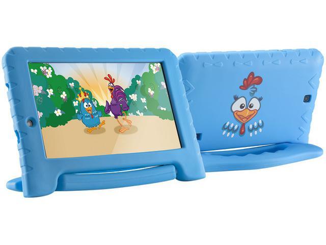 "Imagem de Tablet Multilaser Galinha Pintadinha Plus 8GB 7"""