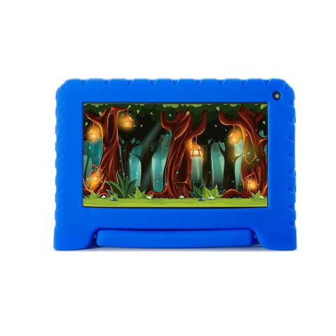 Imagem de Tablet Multilaser Infantil Kidpad Go 7 Polegadas 16GB Azul Nb302