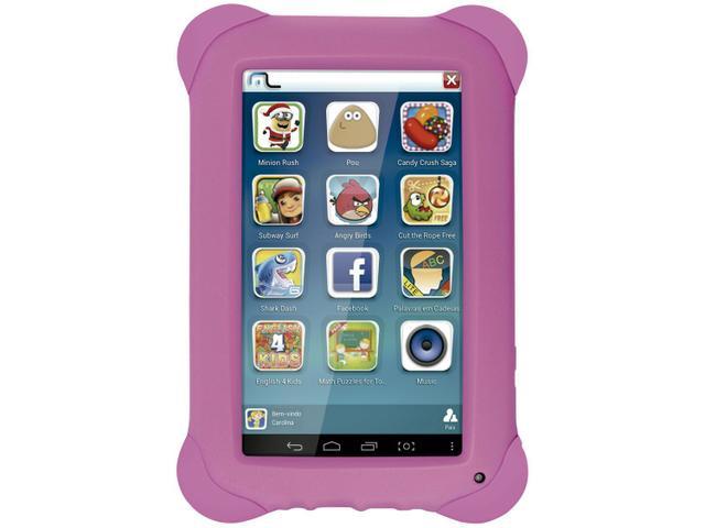 "Imagem de Tablet Multilaser Kid Pad 8GB 7"" Wi-Fi Android 4.4"