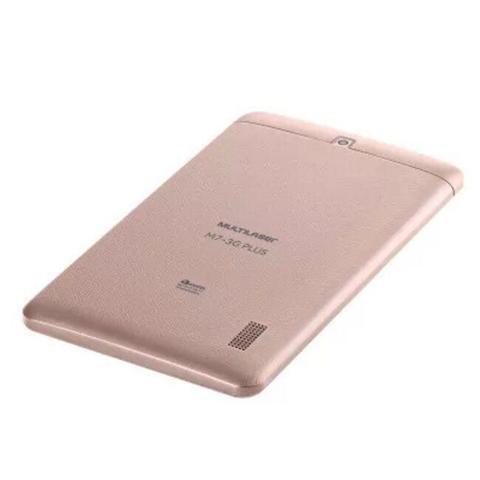Imagem de Tablet Multilaser M7 3G Plus Dual Chip Quad Core 1 GB de Ram Memória 16 GB Tela 7 Polegadas Rosa