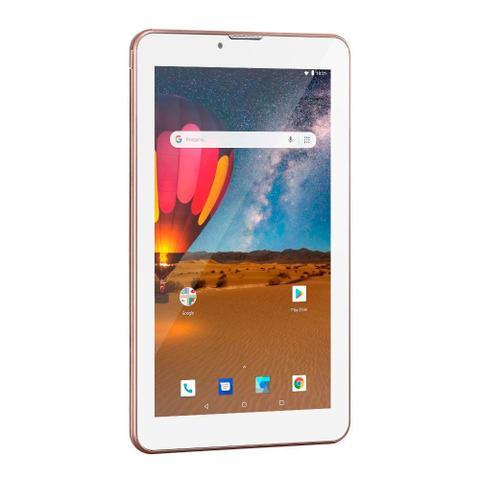 Imagem de Tablet Multilaser M7 3G Plus Dual Chip Rosa NB305
