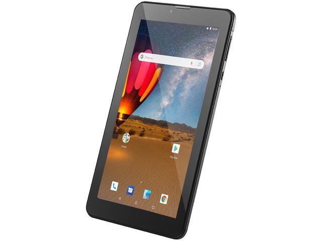 """Imagem de Tablet Multilaser M7 3G Plus NB304 16GB 7"""""""
