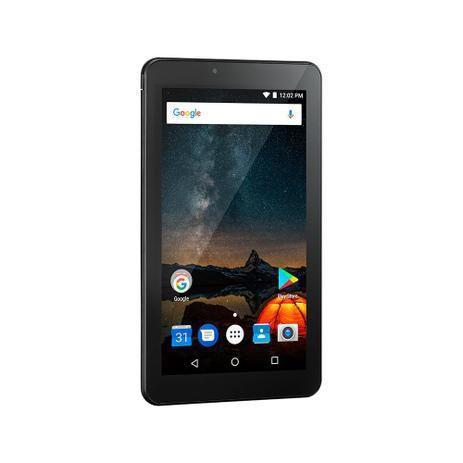 Imagem de Tablet Multilaser M7S Plus 32GB (16GB + 16GB de Cartão Memória) Quad Core Tela 7 Preto NB312