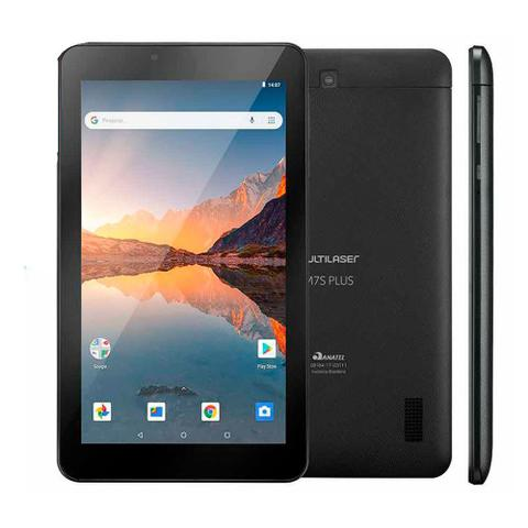 Imagem de Tablet Multilaser M7s Plus 32gb 1gb Quad Core 2.0 Mp