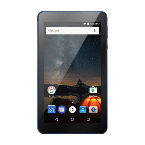 Imagem de Tablet Multilaser M7S Plus Quad Core Câmera Wi-Fi 1 Gb De Ram Tela 7 Pol. Memória 8Gb Azul - NB274