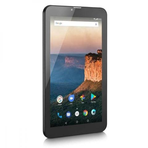 Imagem de Tablet Multilaser M9 3G 1Gb 8Gb 9 Pol. Quad Core Dual chip Preto Nb247