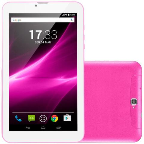 Tablet Multilaser M9 Nb247 Rosa 8gb 3g