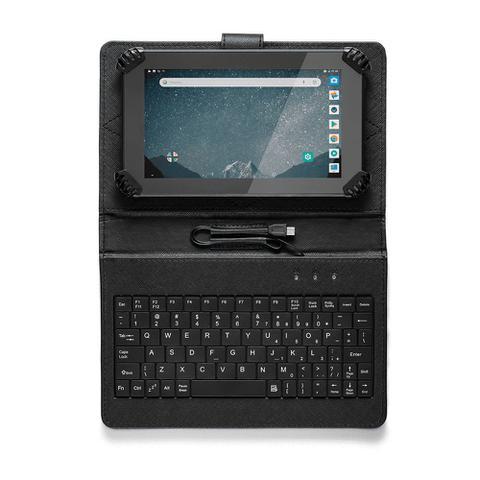 Imagem de Tablet Multilaser Preto + Case Teclado M7s Go 1gb 16gb Nb310