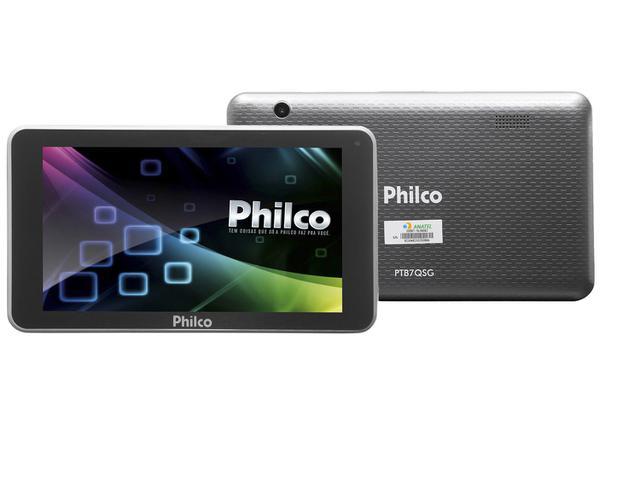 """Imagem de Tablet Philco PTB7QSG 8GB 7"""" Wi-Fi"""