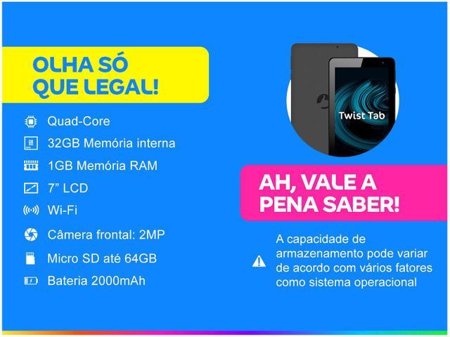 "Imagem de Tablet Positivo Twist Tab T770B 7"" Wi-Fi"