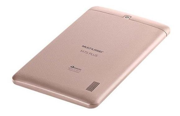 Imagem de Tablet Rosa Com 16gb Android 8.1 Capa Com Teclado Mouse Hub
