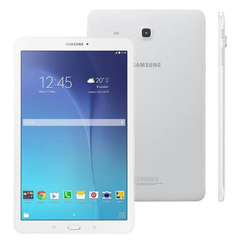 Imagem de Tablet Samsung Galaxy Tab E SM-T560, Tela 9.6, Wi-Fi, GPS, 8GB, Quad Core 1.3Ghz, Câmera 5MP, Branco