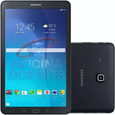 """Imagem de Tablet Samsung Galaxy Tab E T560N - Tela 9.6"""", Android, Wi-Fi, 8GB, Quad Core - Preto"""
