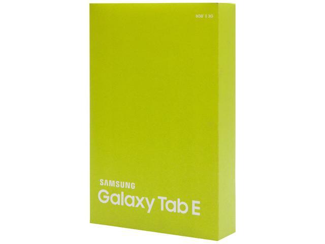 "Imagem de Tablet Samsung Galaxy Tab E T561 8GB 9,6"" 3G Wi-Fi"
