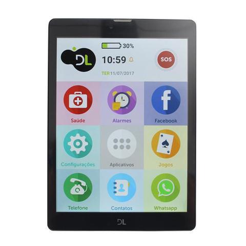 Imagem de Tablet Smartphone e Celular para idosos ObaTablet Obabox