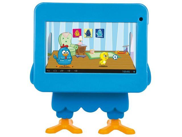 """Imagem de Tablet Tectoy Galinha Pintadinha 2 4GB Tela 7"""""""