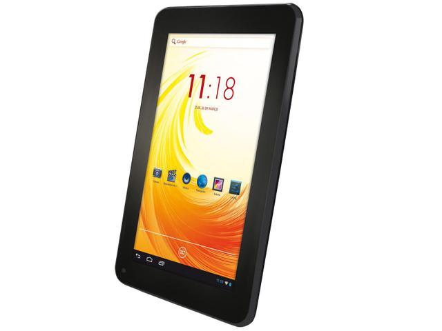 "Imagem de Tablet Tectoy Wind 8GB Tela 7"" Wi-Fi Android 4.2"