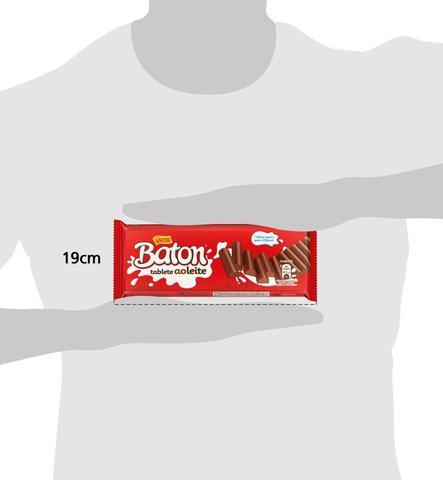 Imagem de Tablete de Chocolate ao Leite Baton Garoto 96g