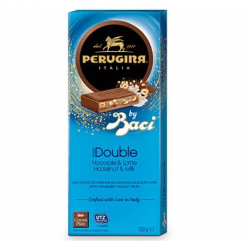 Imagem de Tablete de Chocolate Duplo Ao Leite com Avelãs Baci 150g - Perugina
