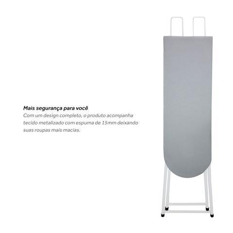 Imagem de Tábua Mesa De Passar Roupa Plus Com Porta Ferro Retrátil