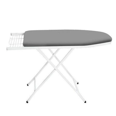 Imagem de Tabua mesa passar extra forte branco com capa metalizada