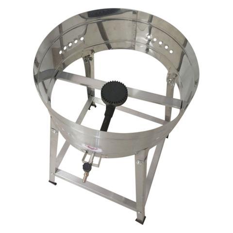Imagem de Tacho Fritador A Gás Alta Pressão 8 Litros Pasteleiro Com Cavalete - Cefaz