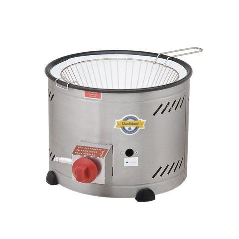 Imagem de Tacho para fritura bacia esmaltada  baixa pressão  3,5 lt  c/ peneira th.1.318 marchesoni