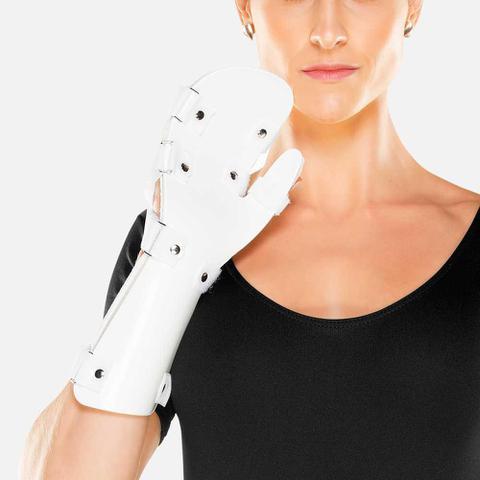 Imagem de Tala em ABS para Punho, Mão e Dedos Direita Tamanho Único Chantal