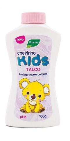 Imagem de Talco Baby Kids Pharma Rosa 100g