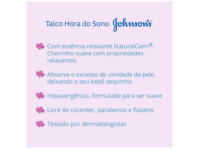 Imagem de Talco Johnsons Baby Hora do Sono 200g