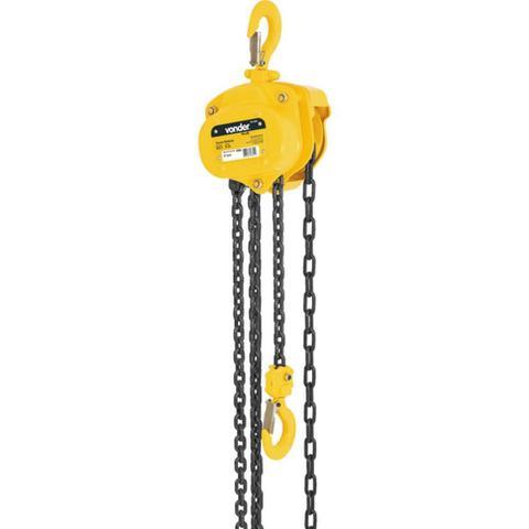 Imagem de Talha manual com capacidade de 500 kg e 5 metros de corrente