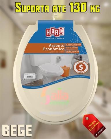 Imagem de Tampa de Vaso / Assento Sanitário Bege 3178 Herc