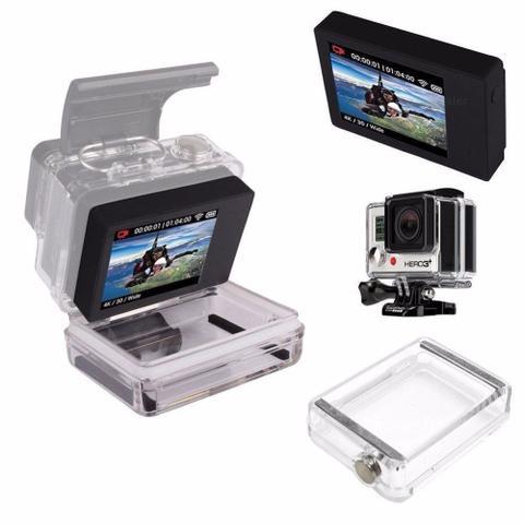 Imagem de Tampa Traseira LCD Extendida BackPack GoPro Hero 3+ e 4