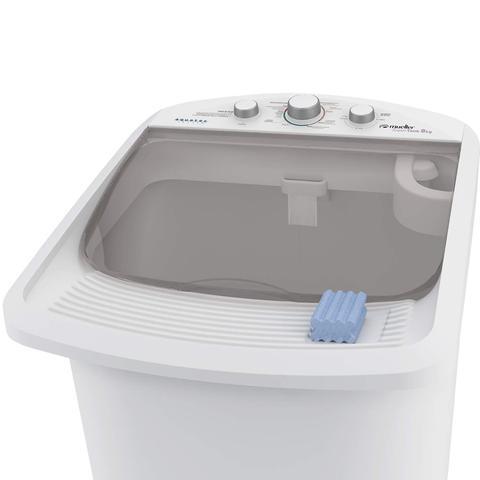 Imagem de Tanquinho 8kg Supertank com Aquatec Mueller 127V Branco