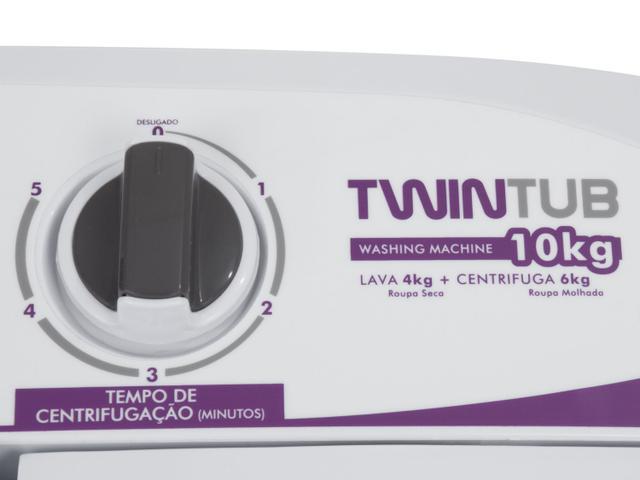 Imagem de Tanquinho Praxis Twin Tub 4,1Kg