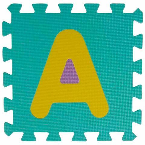 Imagem de Tapete Atividade EVA 36 Peças Modelo Alfanumérico MOR