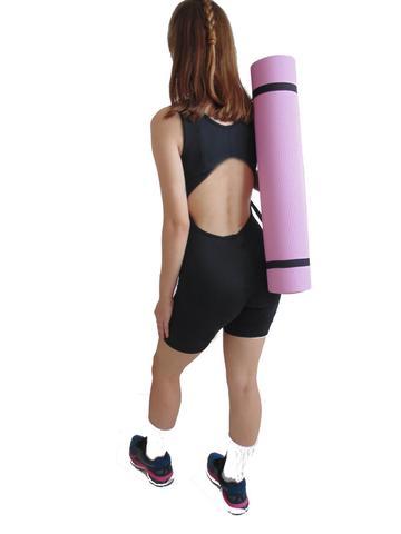 Imagem de Tapete Colchonete Portátil com Alça para Yoga Pilates e diversos exercicios (173cmx61cmx0,6CM) - WCT Fitness 5112