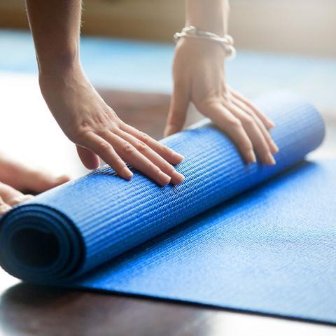 Imagem de Tapete Colchonete Yoga Pilates Fitness Ginastica 170x60cm