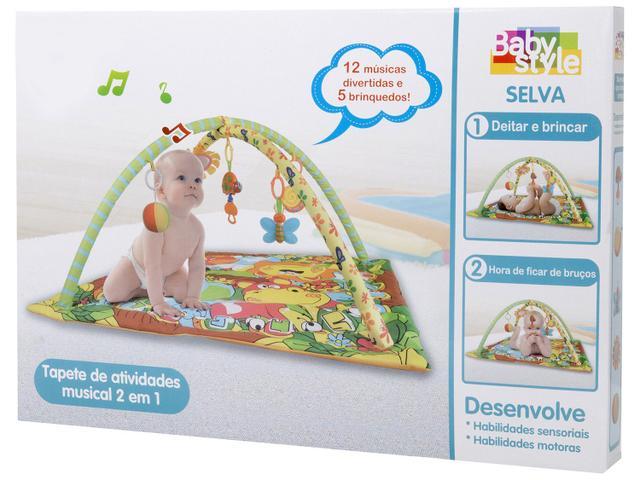 Imagem de Tapete de Atividades Baby Style Selva
