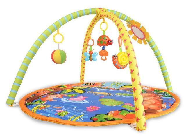 Imagem de Tapete de atividades infantil Tigre 2 em 1 Baby Style