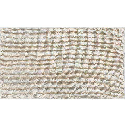Imagem de Tapete de banheiro chenille shaggy 0,40 x 0,60 - niazitex