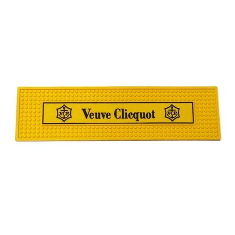 Imagem de Tapete de Borracha Bar Veuve Clicquot Amarelo