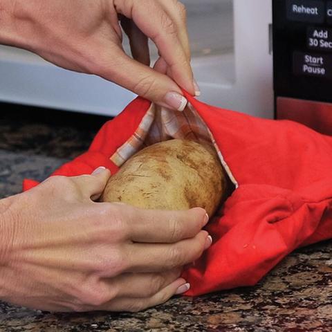 Imagem de Tapete de Silicone Culinario + Kit Bolsa para Cozinhar Batata no Microondas  Clink