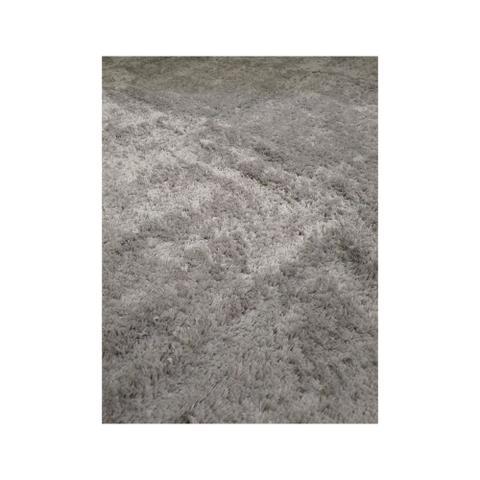 Imagem de Tapete Felpudo Para Quarto e Sala Colima Peludo Cinza 100cmX150cm