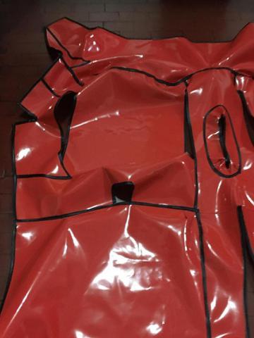 Imagem de Tapete forração protetora para assoalho da D20 95/97 cabine simples em Vinil Verniz Impermeável