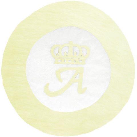 Imagem de Tapete Grande Emborrachado Coroa Inicial Personalizado Palha