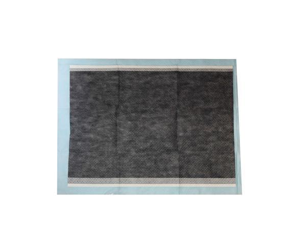Imagem de Tapete Higiênico Carvão Bamboo Para Cães C/ 30 Unidades 80x60cm - Premium