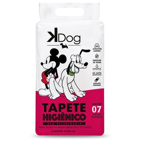 Imagem de Tapete Higiênico K Dog Mickey e Amigos para Cães de todas as raças e idades 80 x 60 cm (7 unidades)