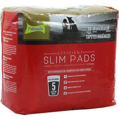 Imagem de Tapete Higiênico Slim Pads - Embalagem Com 30 Unidades - Petmais