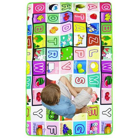 Imagem de Tapete Infantil Anti Termico Lavavel Portatil Sacola Transporte Bebe Crianca (3049)